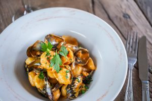 Cafe Casita Mussels